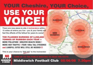 Middlewich Public Meeting Flyer