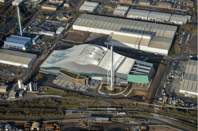 Viridor incinerator in Cardiff