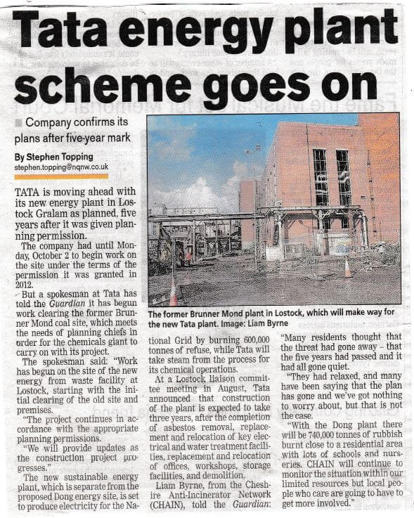 Northwich Guardian 5th Oct 17