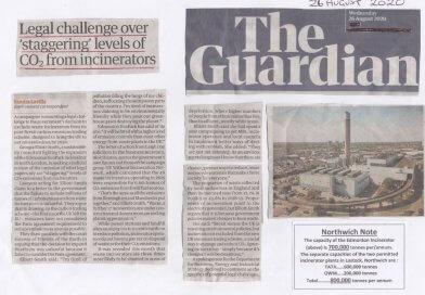 Environmental activist demands waste changes Guardian CO2 Aug 20